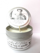 Fierce (A & f Type)- 120ml All Natural Tin Soy Candle, Take it any where