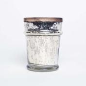 Capri Blue Mercury Found Glass 300ml with Lid - Volcano