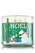 Bath and Body Vanilla Bean Noel 3 Wick Candle