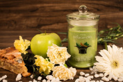 BellaCandles | Warm Apple Pie | with a 925 Sterling Silver Surprise up to $5000 | in a Giftbox | Scented Candle