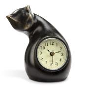Curious Cat Clock