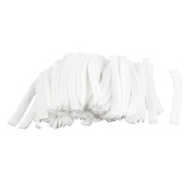 FOREVER YUNG 100Pcs White Bouffant SPA Hair Salon Anti Dust Disposable Hat Cap
