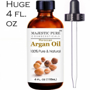 100% Pure & Natural Organic Argan Oil - Hair & Face