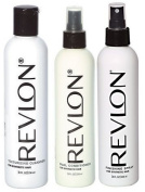 Revlon Texturizing Cleanser, Revitalising Conditioner & Finishing Spray for Synthetic Hair & Wigs, 240ml Value Pack