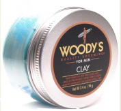Woody's Quality Grooming For Men Clay - Matte Finish, Firm Flexible Hold 100ml/ 96 grms