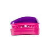 Dessata Mini Detangle Brush, Purple and Fuchsia