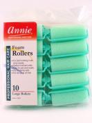 Annie Large Foam Hair Rollers - 10 Pk.