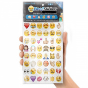 KingSo 19 x Funny Cute Emoji Removable Decal Letter Wall Phone Stickers Labels