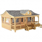 Metcalfe Models PO410 00/H0 Scale Wooden Pavilion Card Kit