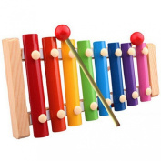Ukamshop(TM)Baby Kid Musical Toys Xylophone Wisdom Development Wooden Instrument