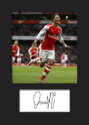 MESUT OZIL - ARSENAL Signed Mounted Photo A5 Print