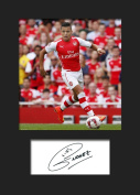 ALEXIS SANCHEZ - ARSENAL Signed Mounted Photo A5 Print