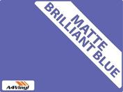 Brilliant Blue Matte 150mm Kitchen & Bathroom Wall Tile Transfers,