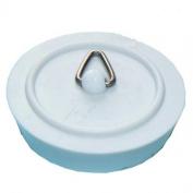 3.8cm White Sink Plug
