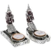 "Thai Buddha Tealight Holder 14 cm (5.5"") - Only ONE supplied"