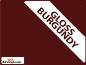 Burgundy Gloss 150mm Kitchen & Bathroom Wall Tile Transfers,