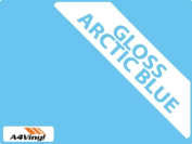 Arctic Blue Gloss 150mm Kitchen & Bathroom Wall Tile Transfers,