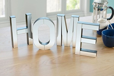 Home Large Mirrored Freestanding Or Wall Decorative Letters By My Furniture Shop Online For