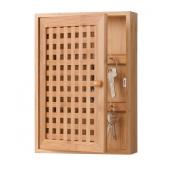 Zeller 13876 Key Cabinet Bamboo 19 x 6 x 27 cm