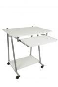 Homestyle Computer Desk White Melamine For Home Office Furniture Unit