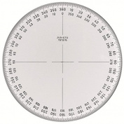 Aristo AR1512/5 Full Circle Protractor 360°