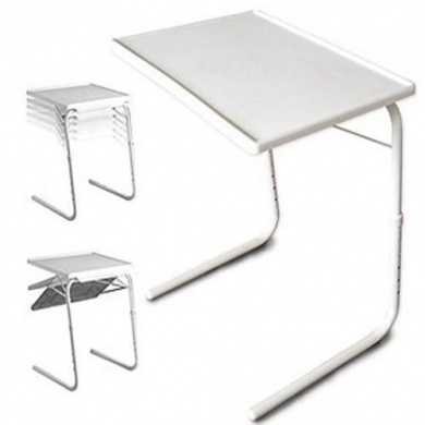 5 In 1 Adjustable Folding Table Tv Dinner Laptop Table Mate Travelling Tray  Desk