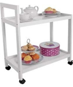 Living White Tea Trolley.