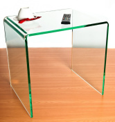 Silicon (Glass Effect) Acrylic Side/End Table