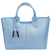Urban Country Florence Standard Shopper in Sky Blue Gloss Finish