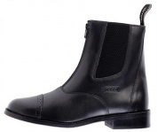 Toggi Augusta Child's Zip-up Leather Jodhpur Boot In Black, Size