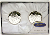 Silverplated First Tooth and First Curl Boxes Set