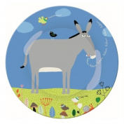 Ferme AF920D Small Dinner Plate with Donkey Motif