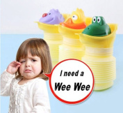 On the Go Kids Unisex Portable Carry Potty/Collapsible wee bottle 400ML