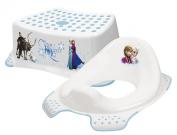 Disney Frozen Toddler Toilet Training Seat & Step Stool Combo - White