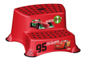 Disney Cars Children's Toilet Training 21cm tall Double Step Stool - Red