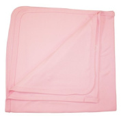 BabywearUK Baby Blanket - Cotton - Pink - British Made