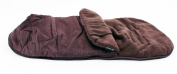 Universal Luxury Footmuff Cocoon - Hot Chocolate For Phil & Teds Double Kit / Navigator / Explorer / Dash / Dot / Vibe