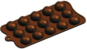 silicone chocolate mould-ball shape