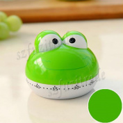 New Design Cute Lovely Frog 55 Mins Animal Kitchen Timer Countdown Timer for Kithen Kids - Multi Colours