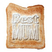 Ditsy Floral Toast Stamp - Best Mum