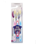 3 Count Nano Dental Care Soft Toothbrushes For Happy Family