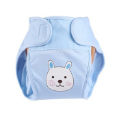 Lovely Rabbit Baby Leak-free Nappy Cover With hook and loop Closure