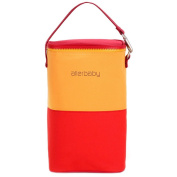 Travel Package Infant Bottle Tote Bag Baby Keep Milk Fresh Bag RED & YELLOW