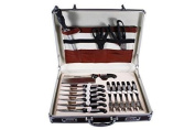 Concord Cookware 24-piece Professional Chef Knife Set with Brief Case