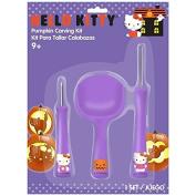 Hello Kitty Pumpkin Carving Kit - Tools & Patterns