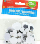 (Pack of 2) Crafter's Square Googly Eyes 125 count
