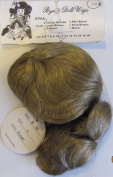 BYRON Craft DOLL HAIR WIG Style B-30 Fits SIZE 28cm Colour HONEY BLONDE Synthetic JAPAN Fibre HAIR w Long Loose Curls