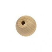 Wood Ball Knob / Doll Heads-Bag of 100