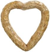 FloraCraft Straw Heart, 50cm