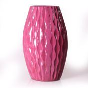 Joveco Decorative Wood Vase Modern Fashion Home Decor Great Gift JVS01-P